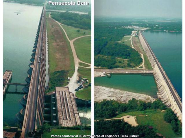 Pensacola Dam USACE image