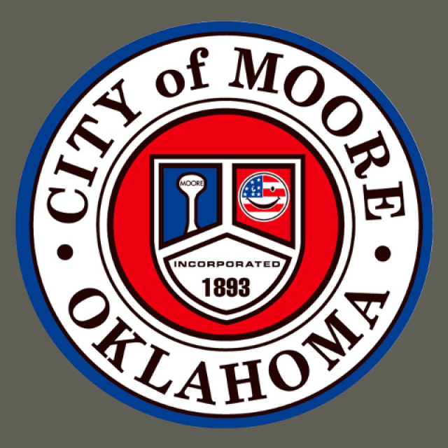 Seal of Moore  Oklahoma seal image