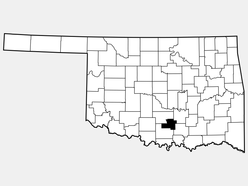 Murray County locator map