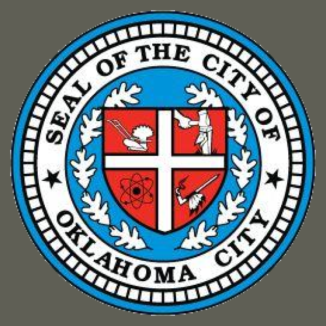 Seal of Oklahoma City  Oklahoma seal image