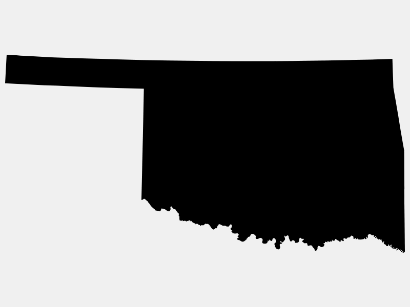 Oklahoma County locator map