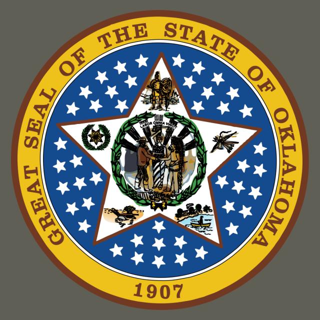 Seal of Oklahoma seal image