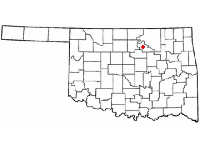 Pawnee locator map
