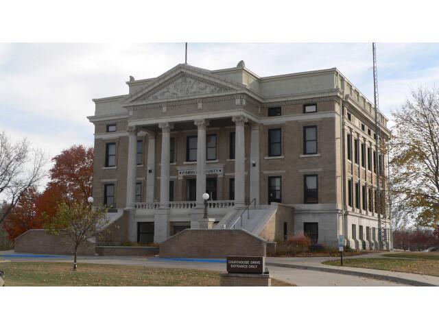 Pawnee County  Nebraska courthouse from NW 1 image