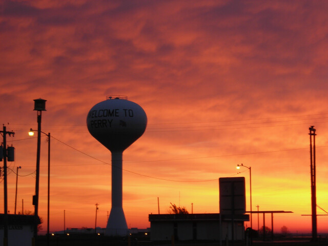 Sunrise in Perry Oklahoma image