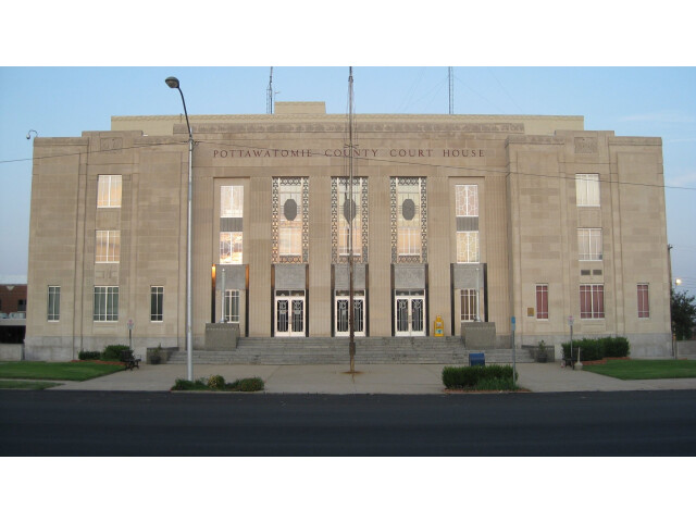 Pottawatomie county oklahoma courthouse image