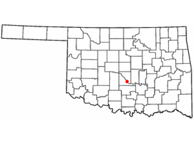 Purcell locator map