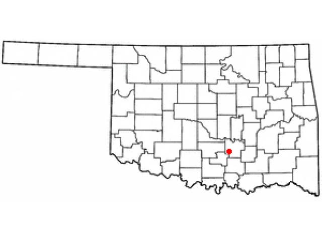 Roff locator map