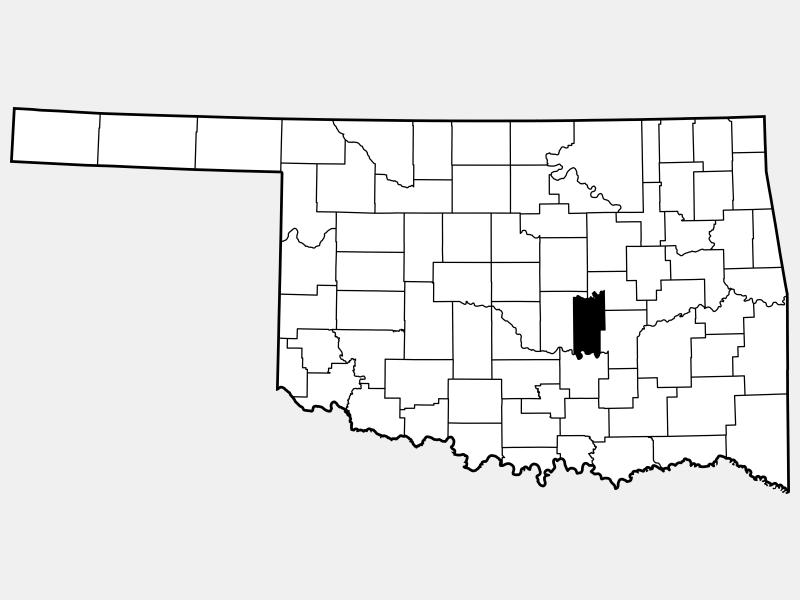 Seminole County locator map