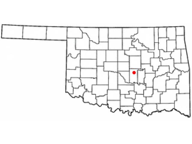 Shawnee location map