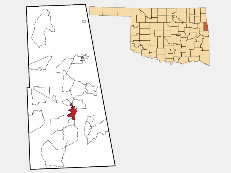Stilwell locator map