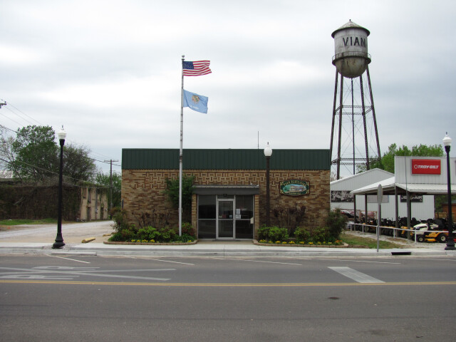 Vian Town Hall  Vian Oklahoma image