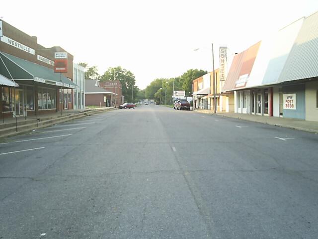 Downtown Westville  OK image