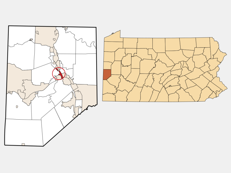 Bridgewater locator map