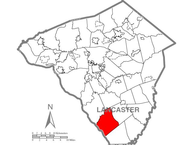 Drumore locator map