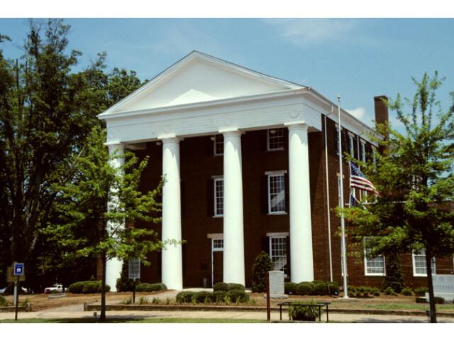 Greene County Georgia Courthouse image