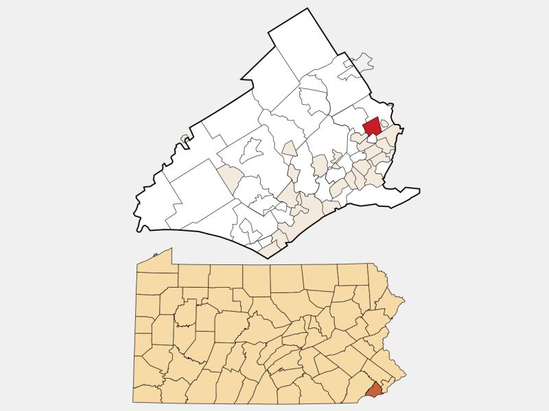 Lansdowne locator map