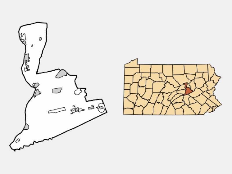 Mount Carmel locator map