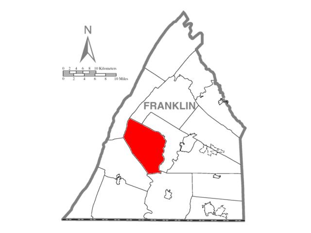 Saint Thomas locator map