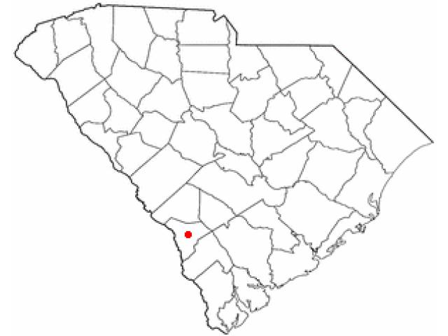 Allendale locator map