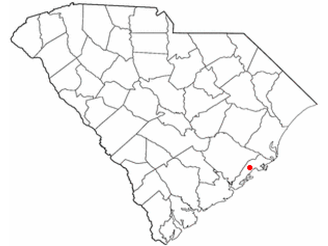 Awendaw location map