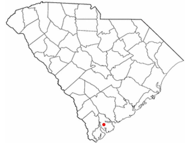 Beaufort locator map