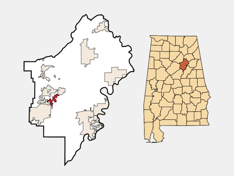 Branchville locator map
