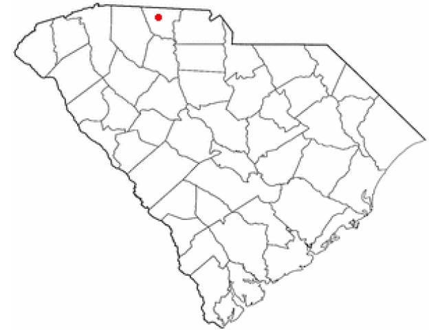 Gaffney locator map