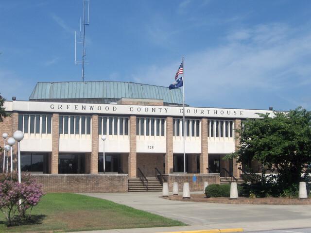 Greenwood County Courthouse  Greenwood  South Carolina image