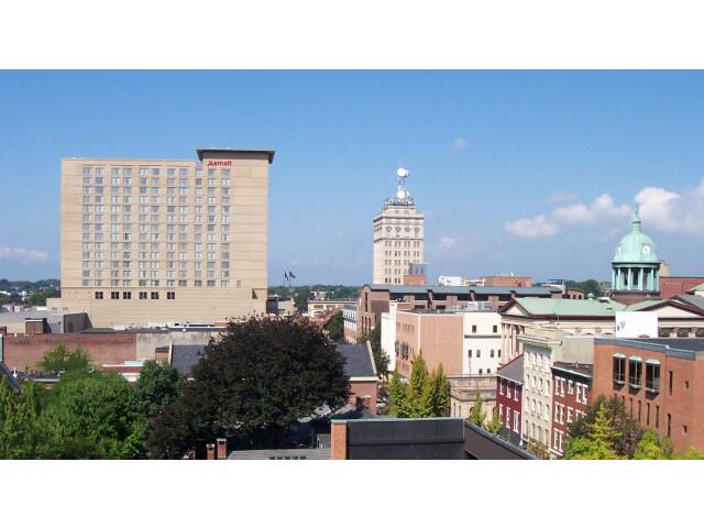 Lancaster Pennsylvania downtown image