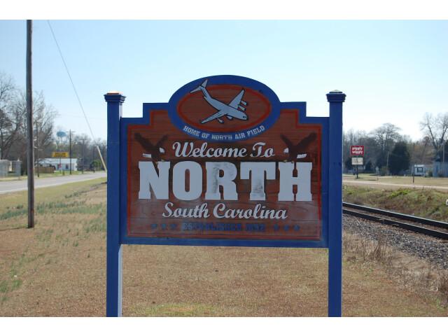 NorthWelcomeSign SC image