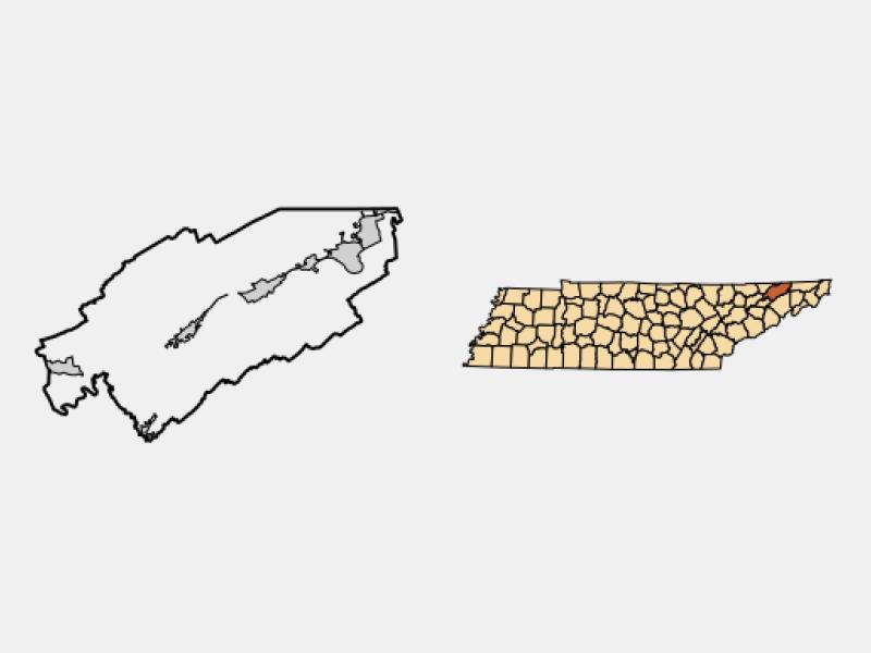 Church Hill location map
