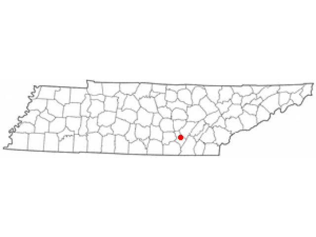 Dunlap locator map
