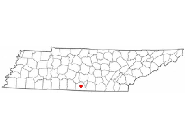 Fayetteville locator map