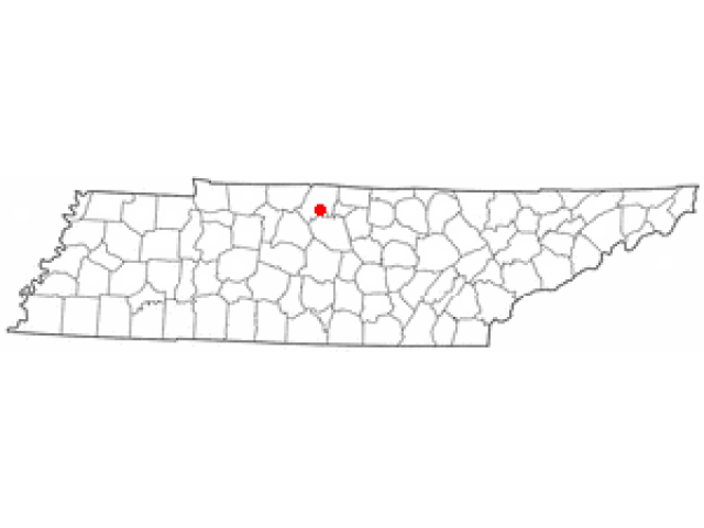 Gallatin locator map