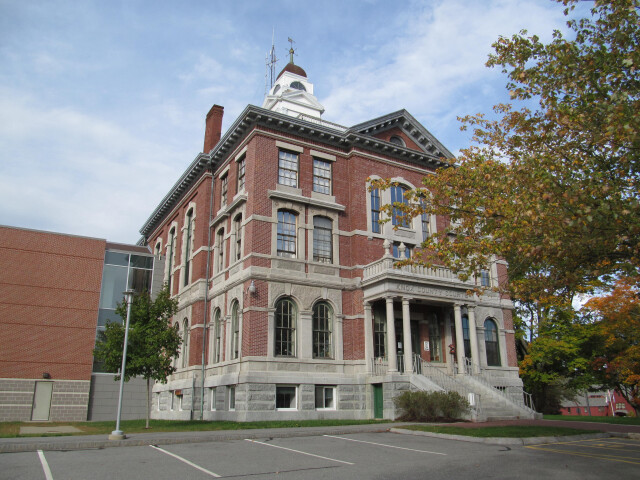 Knox County Courthouse  Rockland  Maine image
