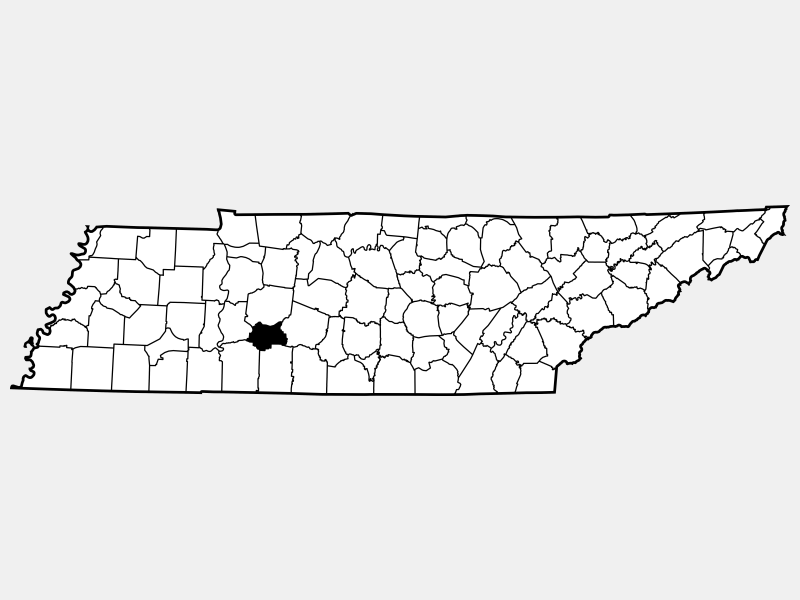 Lewis County locator map