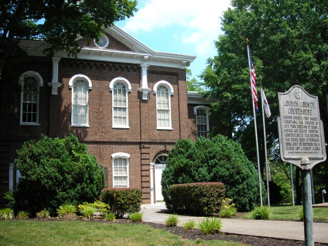 Loudon County  Tennessee Courthouse image