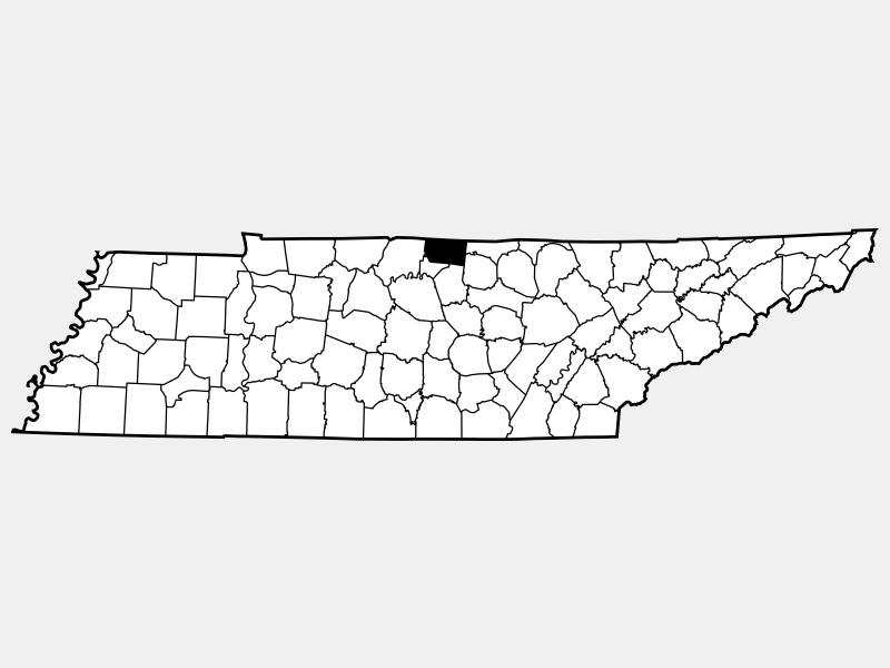 Macon County locator map