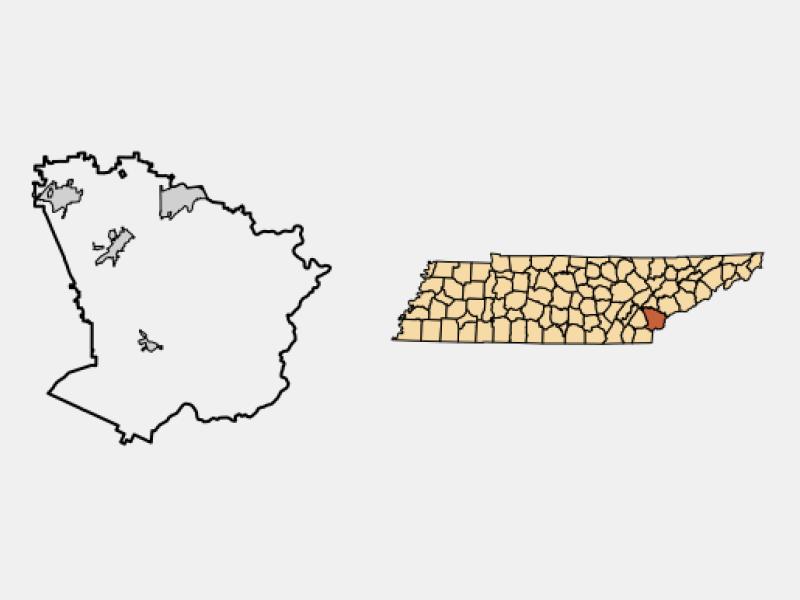 Madisonville locator map