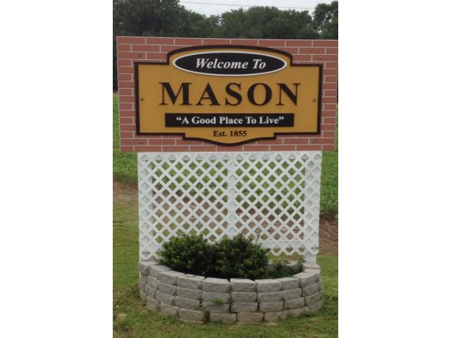 Town Of Mason Entrance sign image