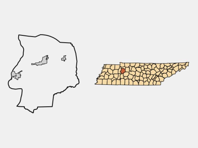 New Johnsonville locator map