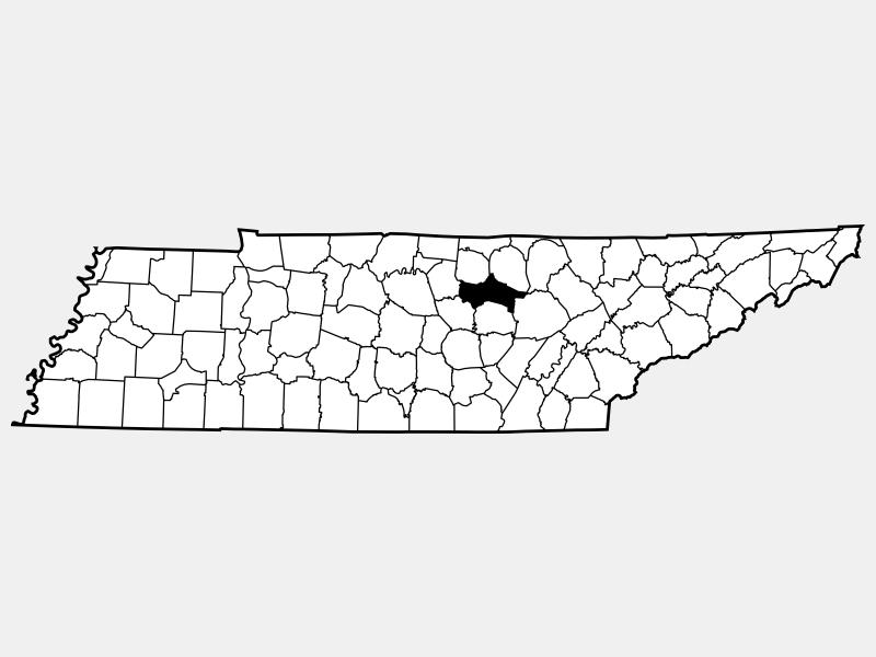 Putnam County locator map