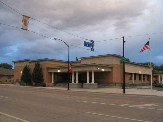 Sevier County Courthouse  Richfield  Utah. image