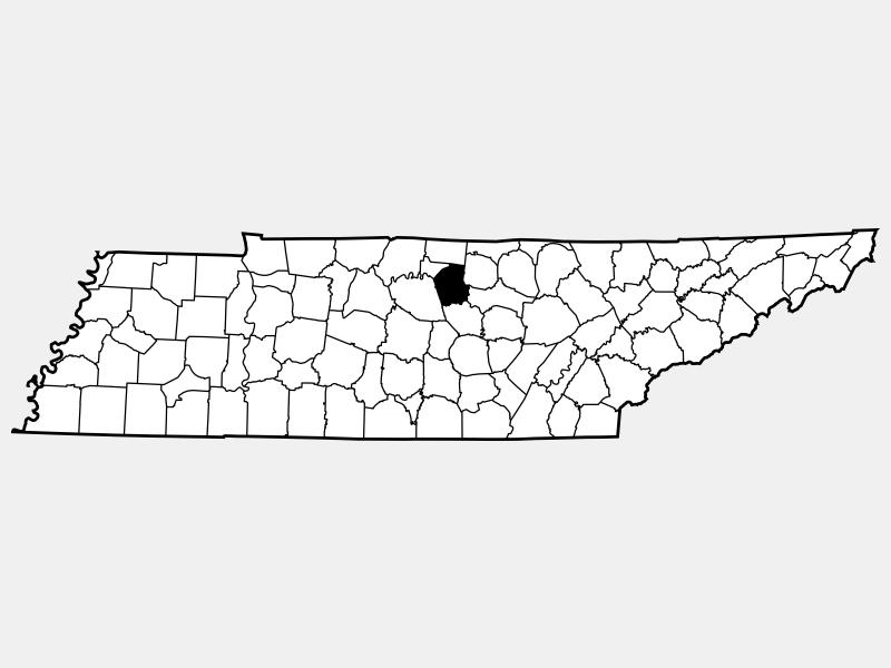 Smith County locator map