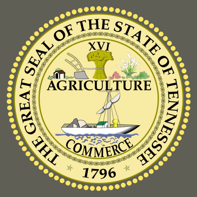 Seal of Tennessee seal image