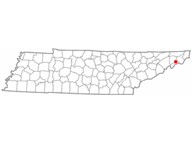 Unicoi location map