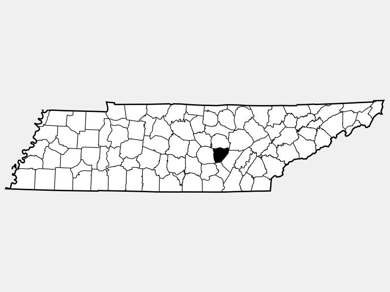 Van Buren County locator map
