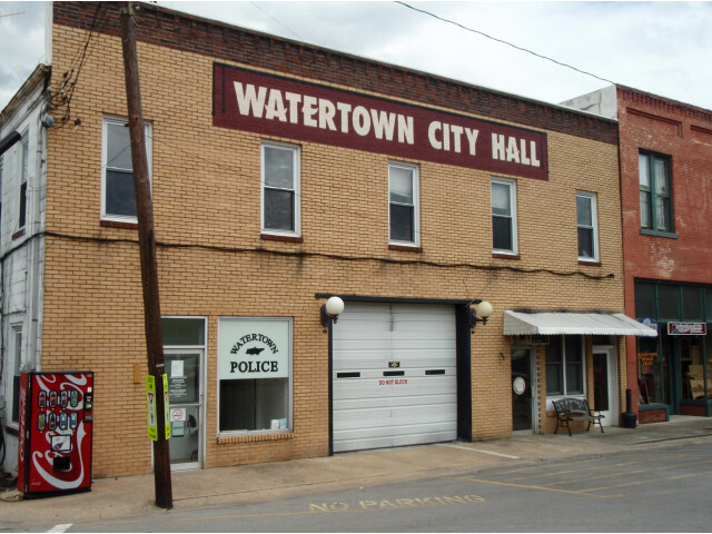 Watertown tennessee city hall image