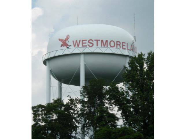 Westmoreland tennessee watertower 2009 image